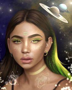 Aquarius by stain_art Aquarius Art, Aquarius Zodiac, Aquarius Images, Black Girl Art, Black Women Art, Aquarius Aesthetic, Zodiac Characters, Black Art Pictures, Leo Zodiac