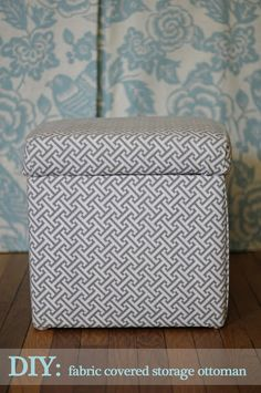 Pawleys Island Posh: No-Sew storage ottoman cover