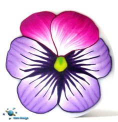 Pansy cane   Flickr - Photo Sharing!