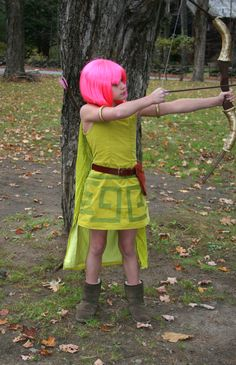 Costumes for Archer of Clash of Clans