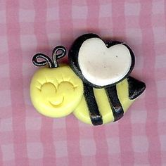 Bee Chic M2MG Polymer Clay Beads and Bow Centers, Jewelry, Charm, Pendant, Hai Bow Center. $1.99, via Etsy.