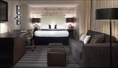 The Hotel George- Washington D.C. Samuelson Legendary Casegoods Hospitality Interior Design