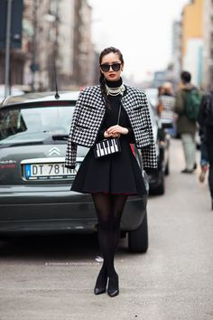 What I'd Wear : The Outfit Database  (source : Stockholm Streetstyle )