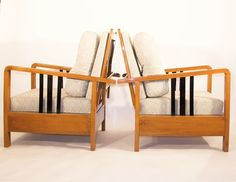 RARE! Kozma Lajos art deco lounge chair from the '30s. - FeelFreeFurnitures