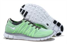 competitive price b636d cd782 Mens Nike Free 5.0 Flyknit Apple Green Shoes Cheap Running Shoes, Nike Free  Shoes,