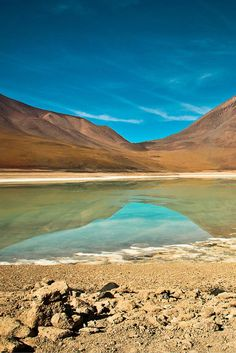 Bolivian Salt Flats – rough and stunning scenery  * click to see entire photo * The Planet D Adventure Travel Blog