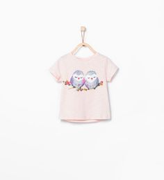Image 1 of Animals T-shirt from Zara