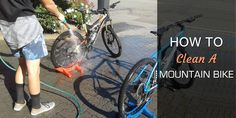 Cleaning mountain bike is hassle for the users. This article described eight steps of cleaning a mountain bike