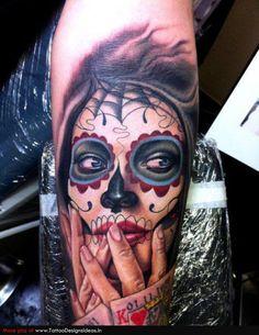 new sugar skull tattoos - Bing images