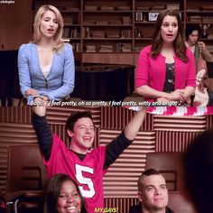 AU- Finn being a proud dad :) I've been sooo inactive that im back to 10k instead of 10.3k #quinnfabray #rachelberry #diannaagron #leamichele #achele #faberry #faberryau #glee