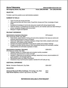 this professionally designed administrative assistant resume shows    this professionally designed administrative assistant resume shows a candidates ability to provide clerical support and resolve office based proble…