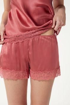 シルク ショーツ - Intimissimi Lace Shorts, Comfort, Stuff To Buy, 3, Shopping, Women, Products, Fashion, Silk Shorts