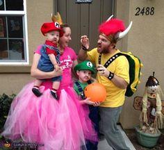 The Mario Bros Family Costume