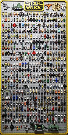 swWall10-19-2011 | Flickr - Photo Sharing! Star Wars Lego Minifigure Collection