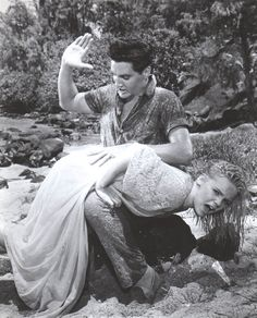 Jenny Maxwell, the girl that Elvis spanked in the movie 'Blue Hawaii.' Ms Maxwell talked about how much the spanking hurt… how her bottom was wet (from having just been in the ocean)… how much Elvis seemed to enjoy giving it. She always spoke fondly of her REAL spanking though.