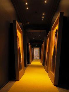 A R T Veuve Cliquot, Hospitality Design, Hotel Hallway, Hotel Corridor,  Corridor