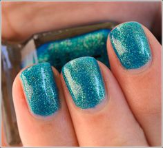 NYX Be Jeweled Nail Lacquer ...OMG I can't believe how pretty this is and is such a good formula for $4