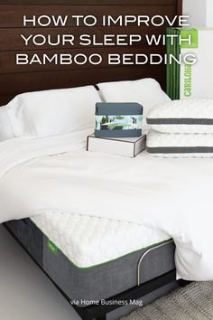 Cariloha bamboo can change the way you sleep! via Home Business Mag