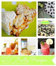 20 Fruity Recipes