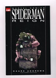 SPIDER-MAN: REIGN 4-part Modern Age series by Kaare Andrews! NM http://r.ebay.com/xoAQtl