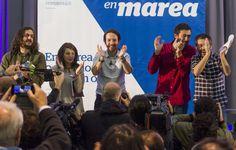 Podemos Galicia critica la campaña de En Marea por su sesgo nacionalista | Galicia | EL PAÍS