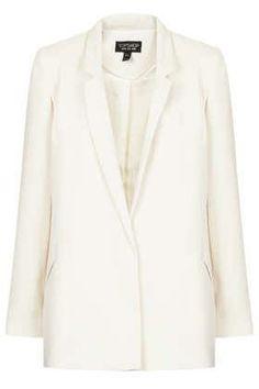 Topshop- Tailored Long Line Blazer