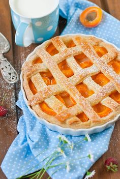 ♥ apricot tart, I'm going to make this!