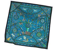 2014 F/W | Peuple du Vent | Cashmere and silk shawl (140 cm x 140 cm) | Ref. H242502S 20