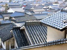 Bikan roofs in Kurashiki