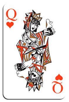 MADDECK Playing Cards By Ozlem Olcer. They're Magically Cubistic.