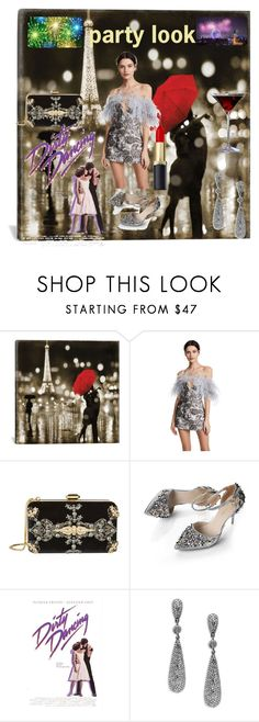"""""""Untitled #481"""" by manusharma-ms ❤ liked on Polyvore featuring iCanvas, Alice McCall, Elie Saab and Bavna"""