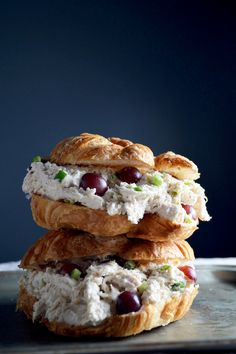 This Chicken Salad is so delicious! Perfect for summer lunching.