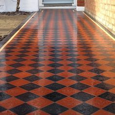 Classic 100, Encaustic tiles. NOT quarry tiles, OH  ... no arguing with stupid  :/
