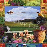 : Floating Sky by Cathy Carey ©2014 www.artstudiosandiego.com