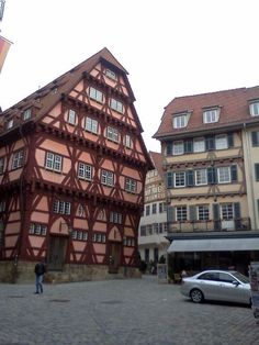 Esslingen, Germany Big Ben, Ties, Multi Story Building, Germany, Spaces, Travel, City, Bathing, Tie Dye Outfits