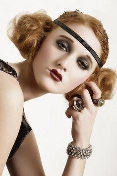 look años 20 maquillaje - Buscar con Google