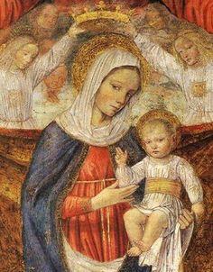 Ambrogio da Fossano  (1453 - 1524):  Madonna and Child