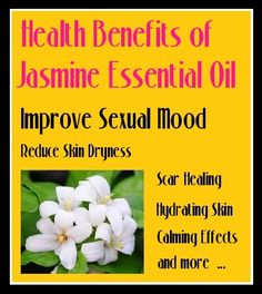 "Please SHARE! #Jasmine essential oil used to be called a ""love potion"". Its aphrodisiac properties are well-known and it can also improve your mood and sense of well-being. If your mind tends to race, jasmine can help you relax. Its aroma can also help improve #self-confidence and make a room seem more inviting and more comfortable.. read more .. http://beautytips.givingtoyou.com/scar-healing-increase-elasticity-with-jasmine-essential-oil"