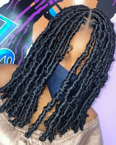 Faux Locs Hairstyles, Twist Braid Hairstyles, Braided Hairstyles For Black Women, Baddie Hairstyles, African Braids Hairstyles, Twist Braids, Girl Hairstyles, Twists, Hairstyle Short