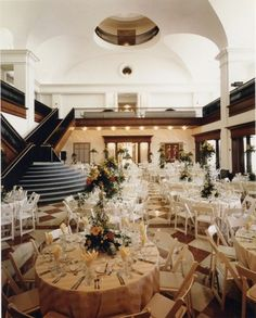 The Indiana Historical Society. A beautiful venue for a wedding or social event.