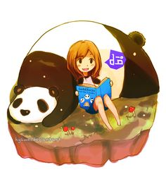 panda and me 2 by hyamei.deviantart.com on @deviantART