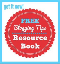 Free blog tips resource book