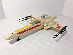 Star Wars X-Wing Fighter 1978 Complete with light and sound #Kenner