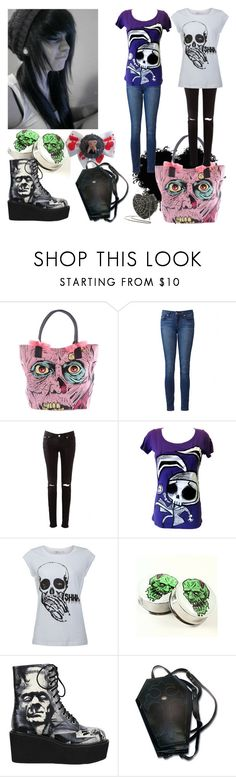 """""""Happy Halloween!!!"""" by kookies25531 ❤ liked on Polyvore featuring Iron Fist and Paige Denim"""