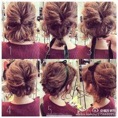 Hair pictorial