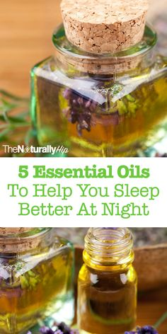 5 Essential Oils To Help You Sleep Better At Night | If you're struggling to sleep well at night, these oils will help a lot!