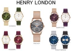 Henry London Watches #HenryLondon #watches