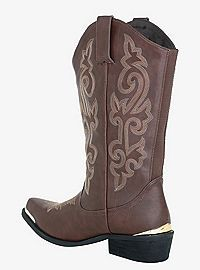 buy best cheap for discount run shoes TORRID.COM - Metal Tip Cowboy Boots (Wide Width) | Plus size ...