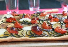 Pizza aux courgettes, aubergines mozzarella | Croquons La Vie - Nestlé