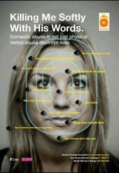 Verbal Abuse hurts!